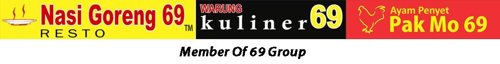 Nasi Goreng 69, Ayam Penyet Pak Mo 69, Warung Kuliner 69